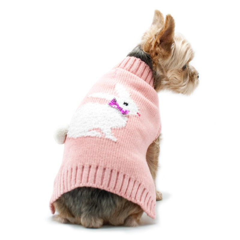 Fluffy Bunny Dog Sweater, Pet Clothes, Furbabeez, [tag]