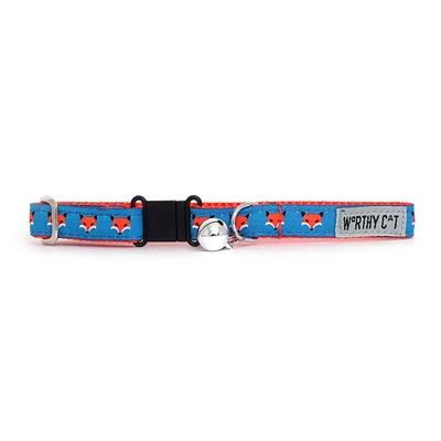 Foxy Cat Collar Collars and Leads Worthy Dog