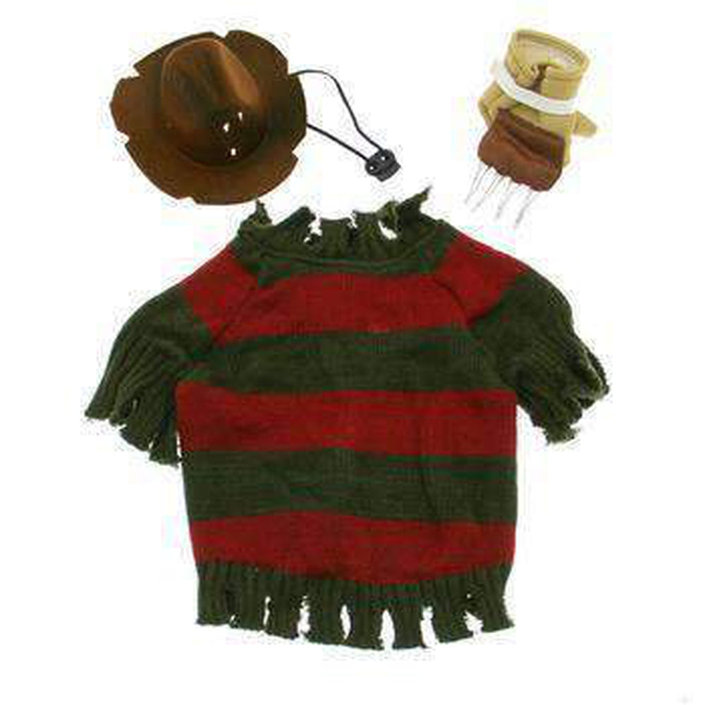 Freddy Krueger Dog Costume, Pet Clothes, Furbabeez, [tag]