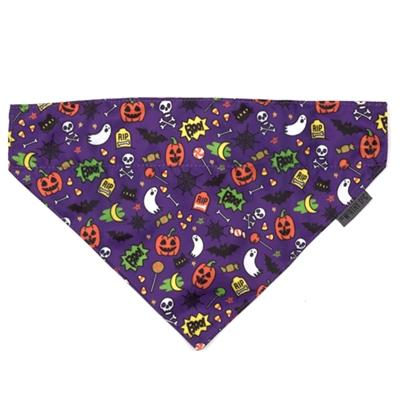 Fright Night Halloween Dog Bandana Pet Accessories Worthy Dog