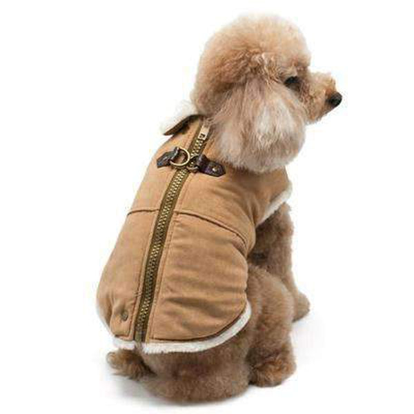 Furry Runner Coat Brown, Pet Clothes, Furbabeez, [tag]