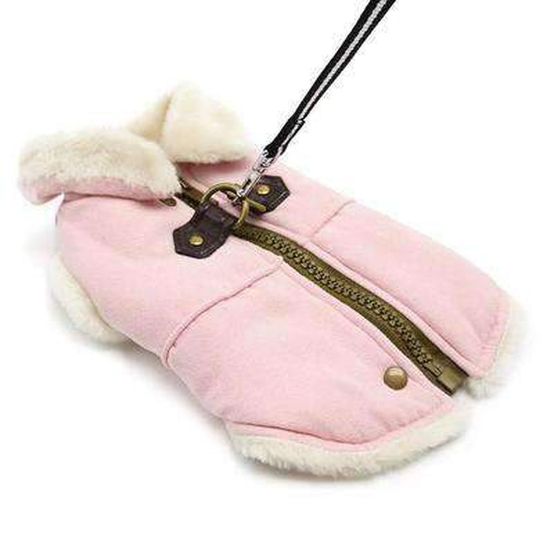 Furry Runner Coat Pink, Pet Clothes, Furbabeez, [tag]