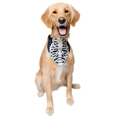 Glow-in-the-Dark Skeleton Bandana Costume Pet Accessories Pet Krewe