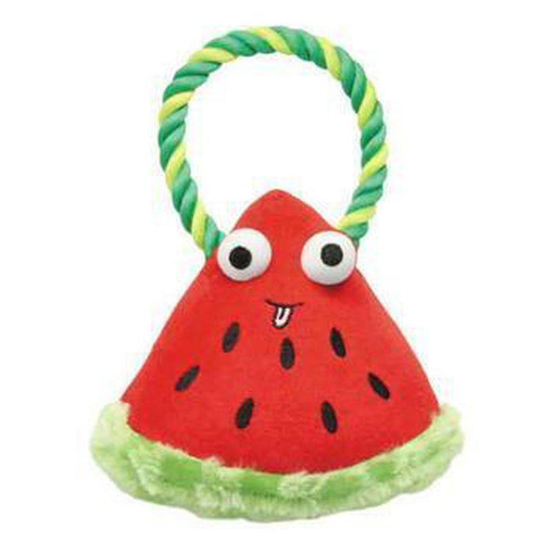 Grriggles Happy Fruit Rope Tug Dog Toy - Watermelon, Pet Toys, Furbabeez, [tag]