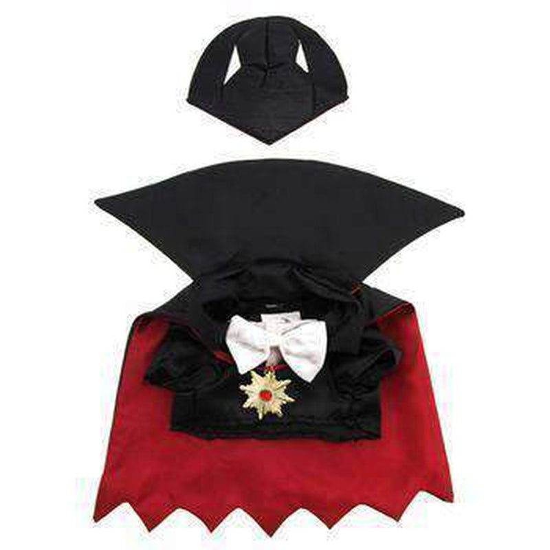 Halloween Dracula Dog Costume, Pet Clothes, Furbabeez, [tag]