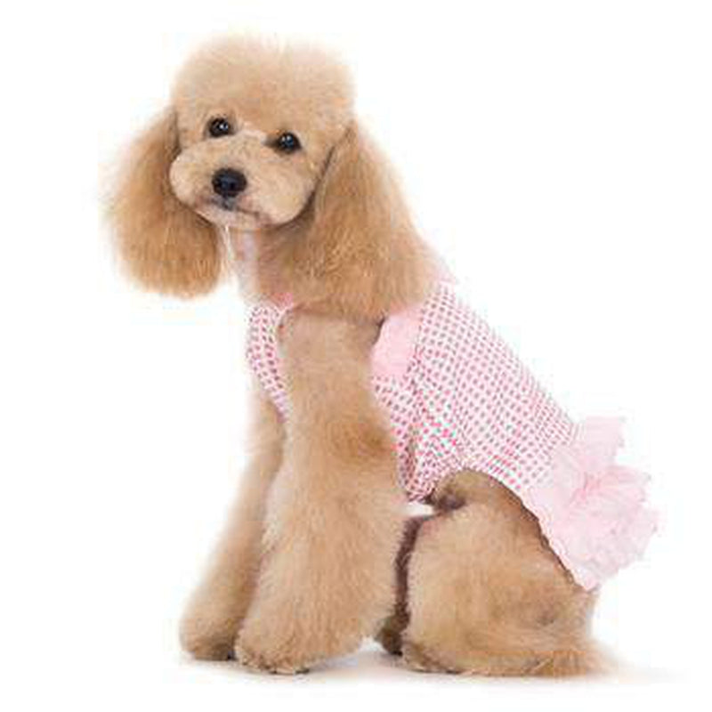 Halter Woven Dog Dress, Pet Clothes, Furbabeez, [tag]