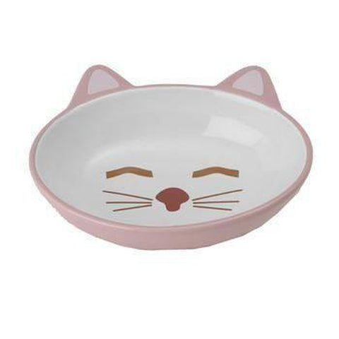Sleepy Kitty Cat Bowl, Pet Bowls, Pet Retail Supply, Furbabeez