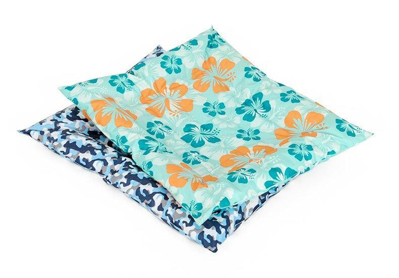 Hibiscus Print Cooling Summer Sleeping Mat, Pet Bed, Furbabeez, [tag]