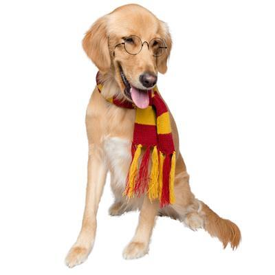 Hipster Wizard Dog Scarf Costume Pet Accessories Pet Krewe
