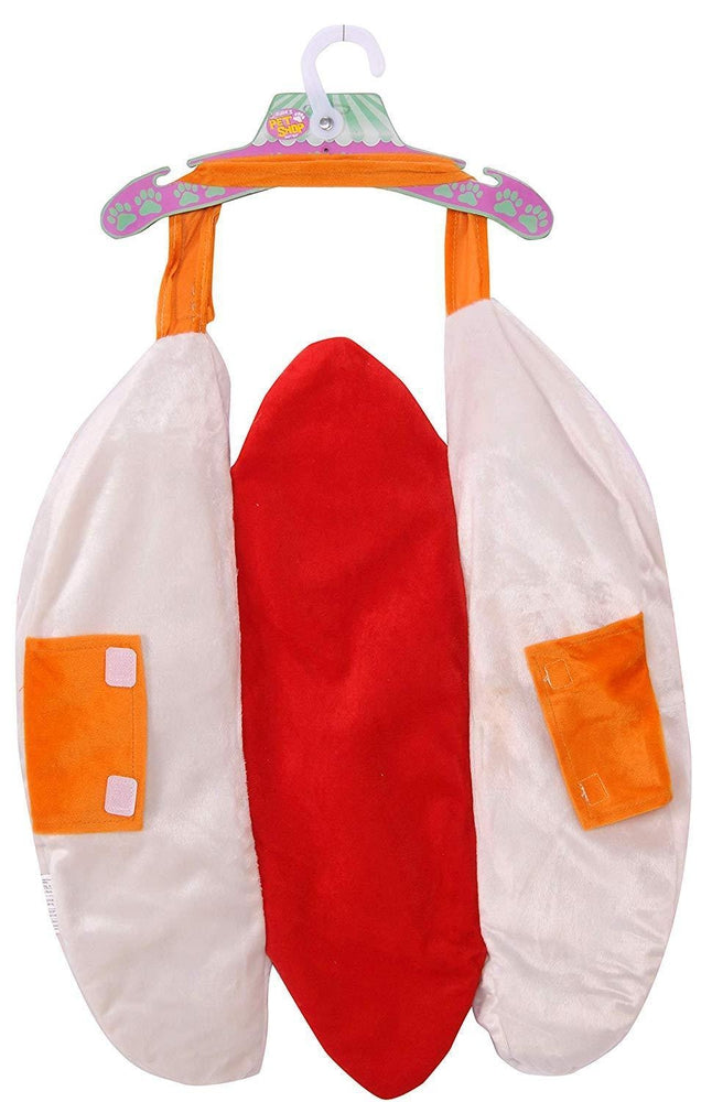 Hot Dog with Mustard Dog Halloween Costume, Pet Clothes, Furbabeez, [tag]