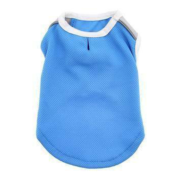 iCool Dog Tank by Dogo - Blue, Pet Clothes, Furbabeez, [tag]