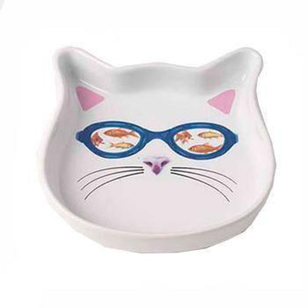 In the Tank Cat Saucer, Pet Bowls, Furbabeez, [tag]