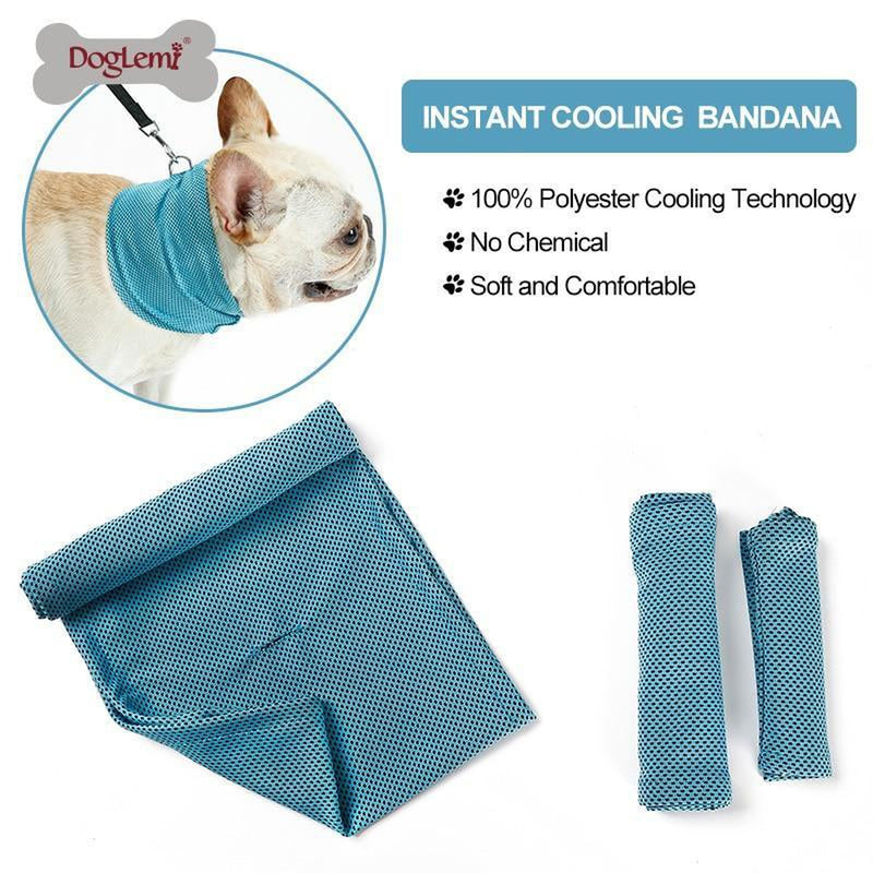 Instant Cooling Dog Bandana Collars and Leads Oberlo