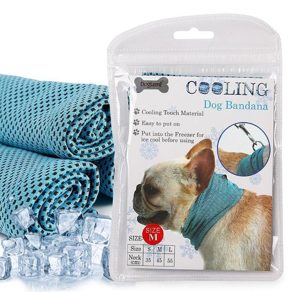 Instant Cooling Dog Bandana, Collars and Leads, Furbabeez, [tag]