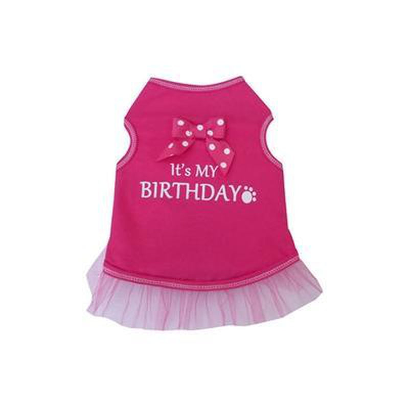 It's My Brithday Dog Tank, Pet Clothes, Furbabeez, [tag]