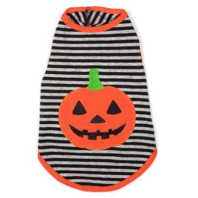 Jack-O-Lantern Dog Tee Pet Clothes Worthy Dog