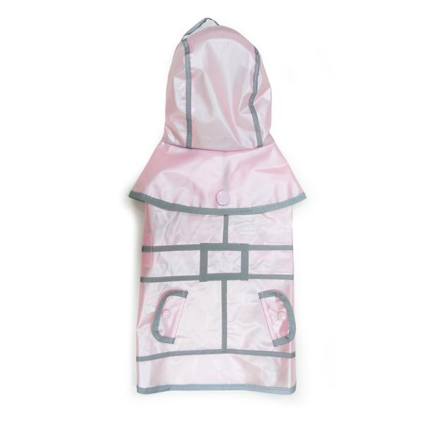 Jelly Dog Raincoat Pet Clothes DOGO Pink XS