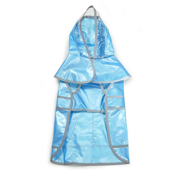 Jelly Dog Raincoat Pet Clothes DOGO Turquoise XS