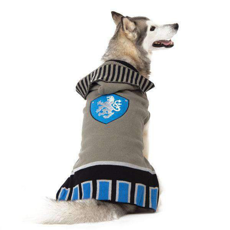 Knight Dog Sweater - Gray, Pet Clothes, Furbabeez, [tag]