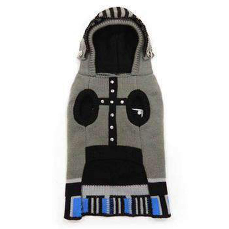 Knight Dog Sweater - Gray Pet Clothes DOGO