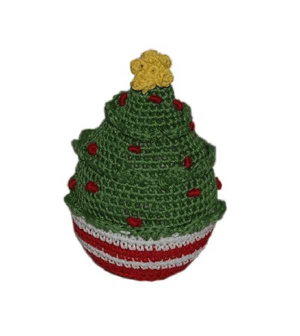 Knit Knacks Christmas Tree Dog Toy Pet Toys Mirage