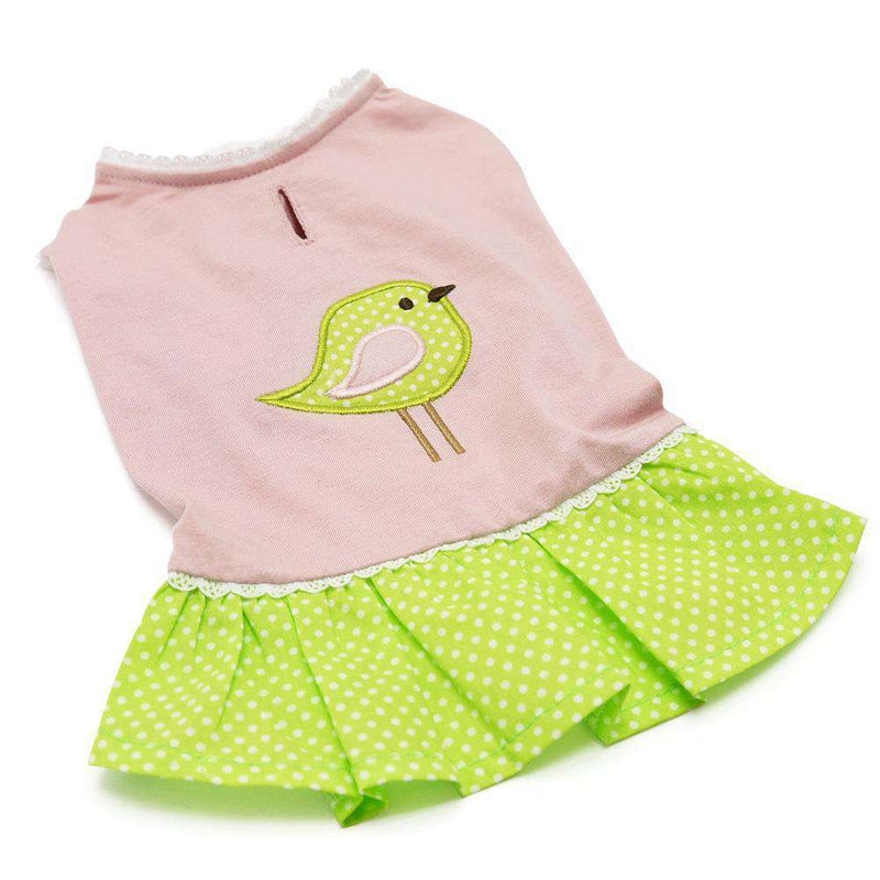 Little Birdy Dog Dress Pet Clothes DOGO