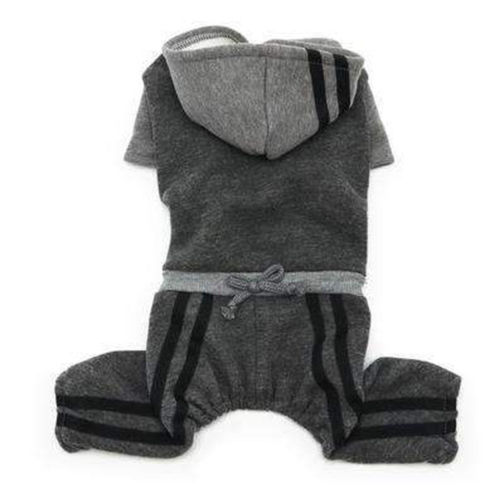 Lounge Tracksuit Pet Clothes DOGO X-Small Gray