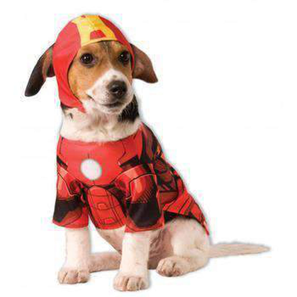 Marvel Iron Man Dog Costume Pet Clothes Rubie's Costumes