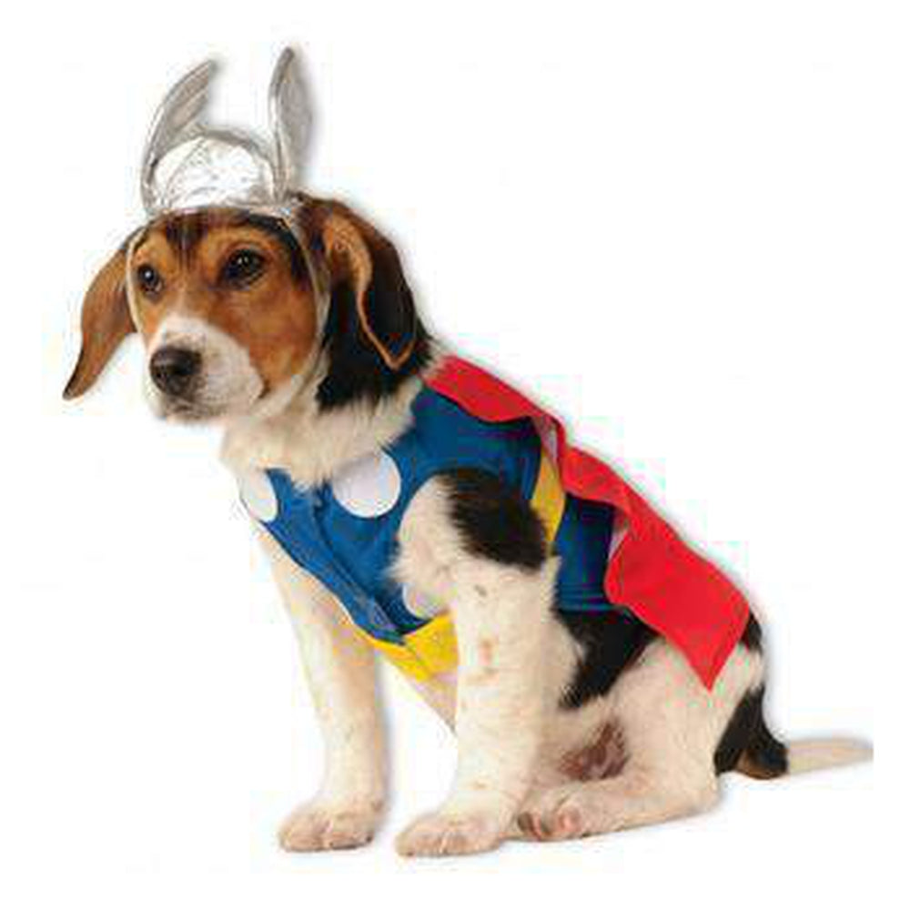Marvel Thor Dog Costume, Pet Clothes, Furbabeez, [tag]