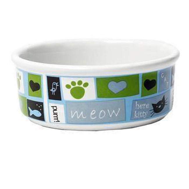 Meow Flair Cat Bowl, Pet Bowls, Pet Retail Supply, Furbabeez