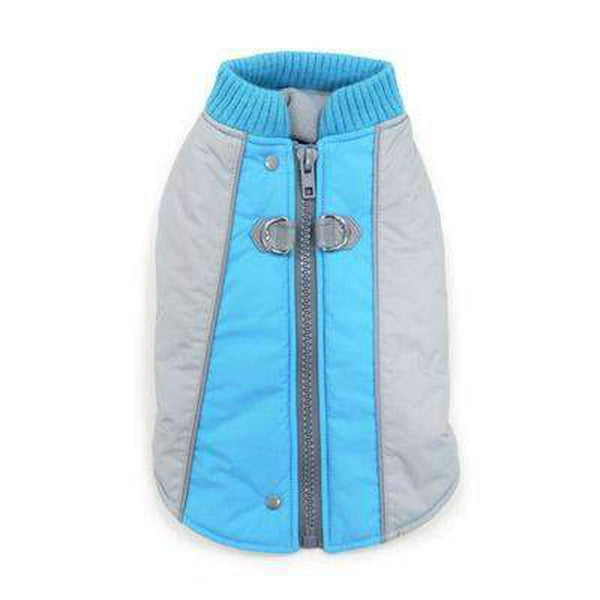 Mountain Hiker Dog Coat - Blue, Pet Clothes, Furbabeez, [tag]