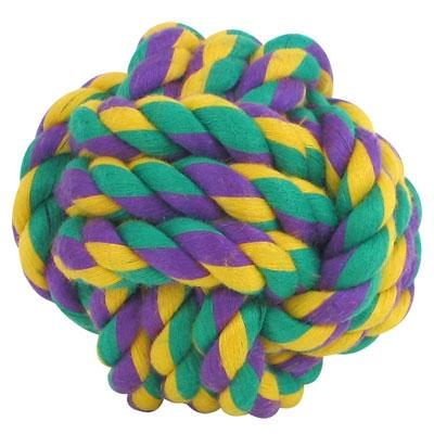 Mulitpet Nuts for Knots - Rope Ball Pet Toys MultiPet Small