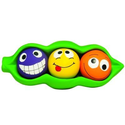Multipet Latex Three Peas in a Pod Dog Toy Pet Toys MultiPet