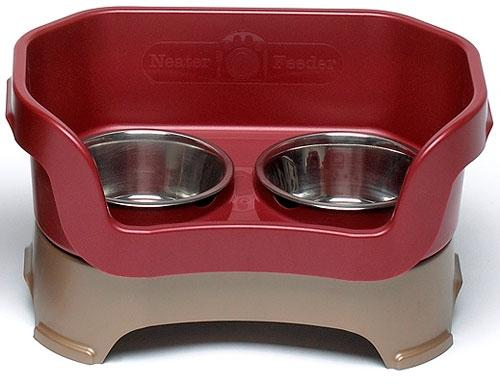 Neater Feeder Deluxe for Medium Dogs Pet Bowls Neater Feeder Red