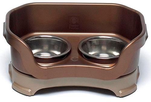 Neater Feeder Deluxe for Small Dogs & Cats Pet Bowls Neater Feeder Brown Dog