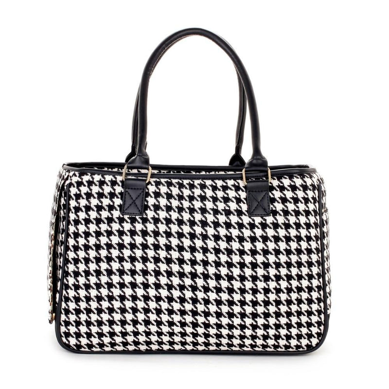 NYC Houndstooth Luxury Dog Carrier Pet Accessories Oberlo