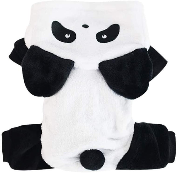 Panda Dog Costume Pet Clothes Oberlo