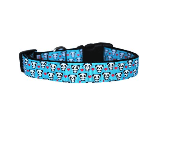 Panda Love Dog Collar & Leash, Collars and Leads, Furbabeez, [tag]