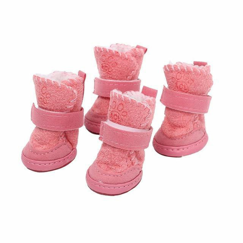 Pawgglys Dog Boots Pet Clothes Oberlo Pink 1