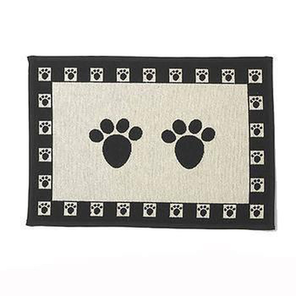 Paws Tapestry Dog Placemat, Pet Bowls, Pet Retail Supply, Furbabeez