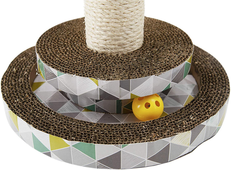 Petstages™ Scratch & Play Tower Track Pet Toys Petstages Developmental Toys