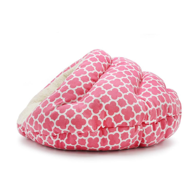 Pink Geo Diamond Pet Dog Bed Pet Bed DOGO