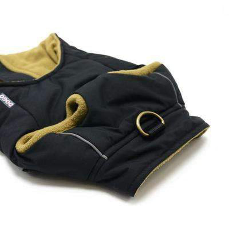 Pocket Runner Dog Coat - Navy Pet Clothes DOGO