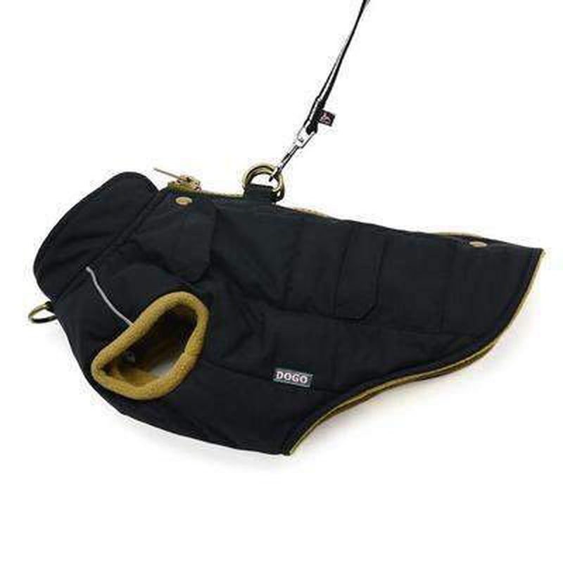 Pocket Runner Dog Coat - Black, Pet Clothes, Furbabeez, [tag]