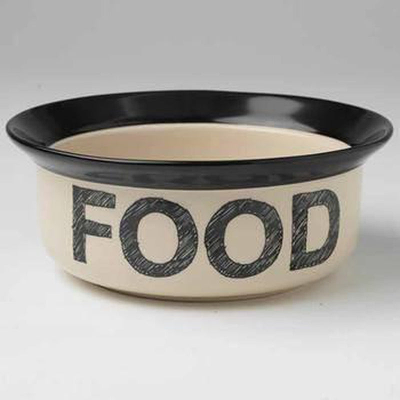 Pooch Basics Dog Bowl - Food Pet Bowls PetRageous 6""