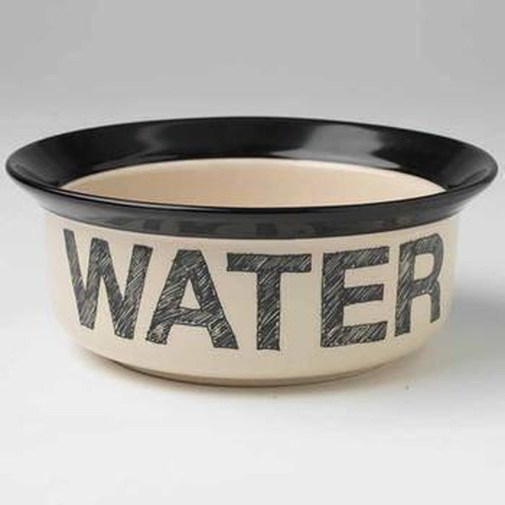 Pooch Basics Dog Bowl - Water Pet Bowls PetRageous 6""