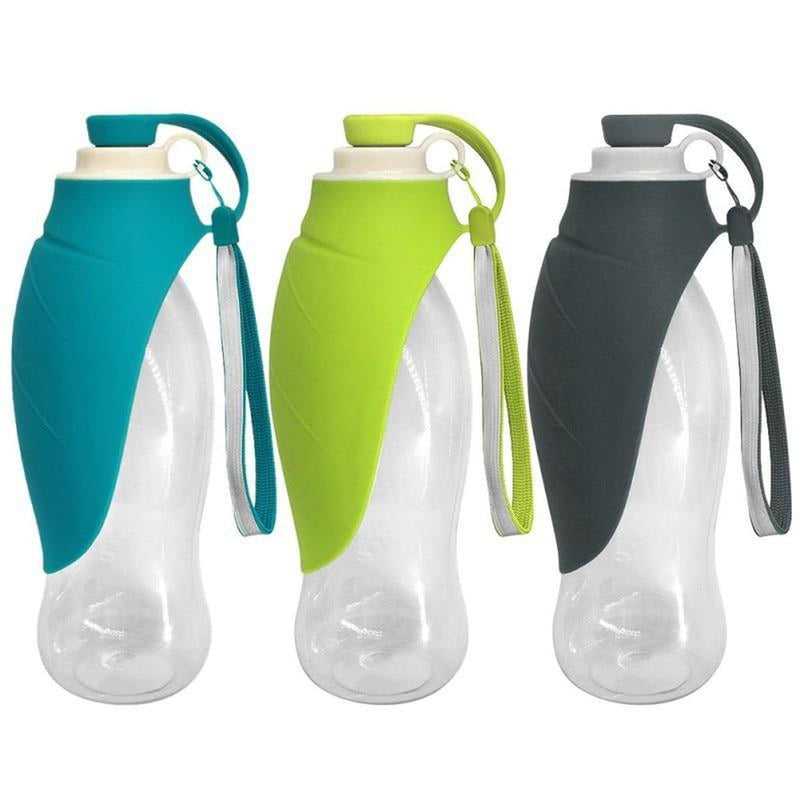 Portable Dog Water Bottle - Expandable Silicone Pet Bowls Oberlo US