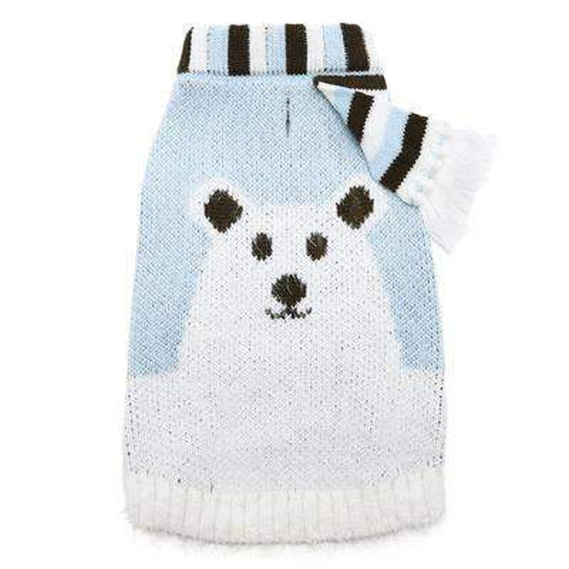 Polar Bear Sweater, Pet Clothes, Furbabeez, [tag]