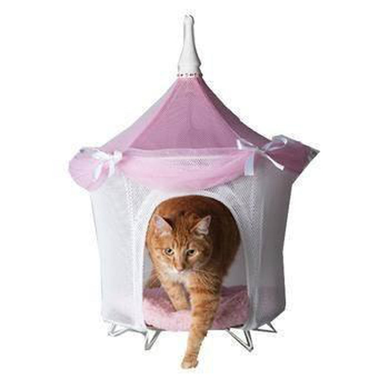 Pretty in Pink Bed Tent, Pet Bed, Furbabeez, [tag]