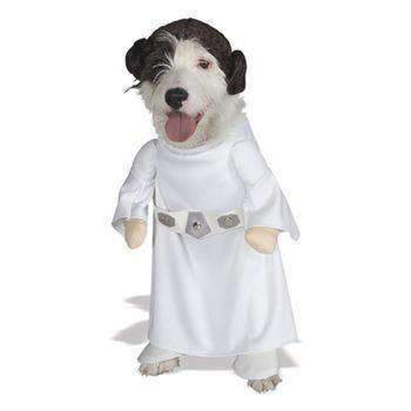 Star Wars Princess Leia Dog Halloween Costume, Pet Clothes, Furbabeez, [tag]